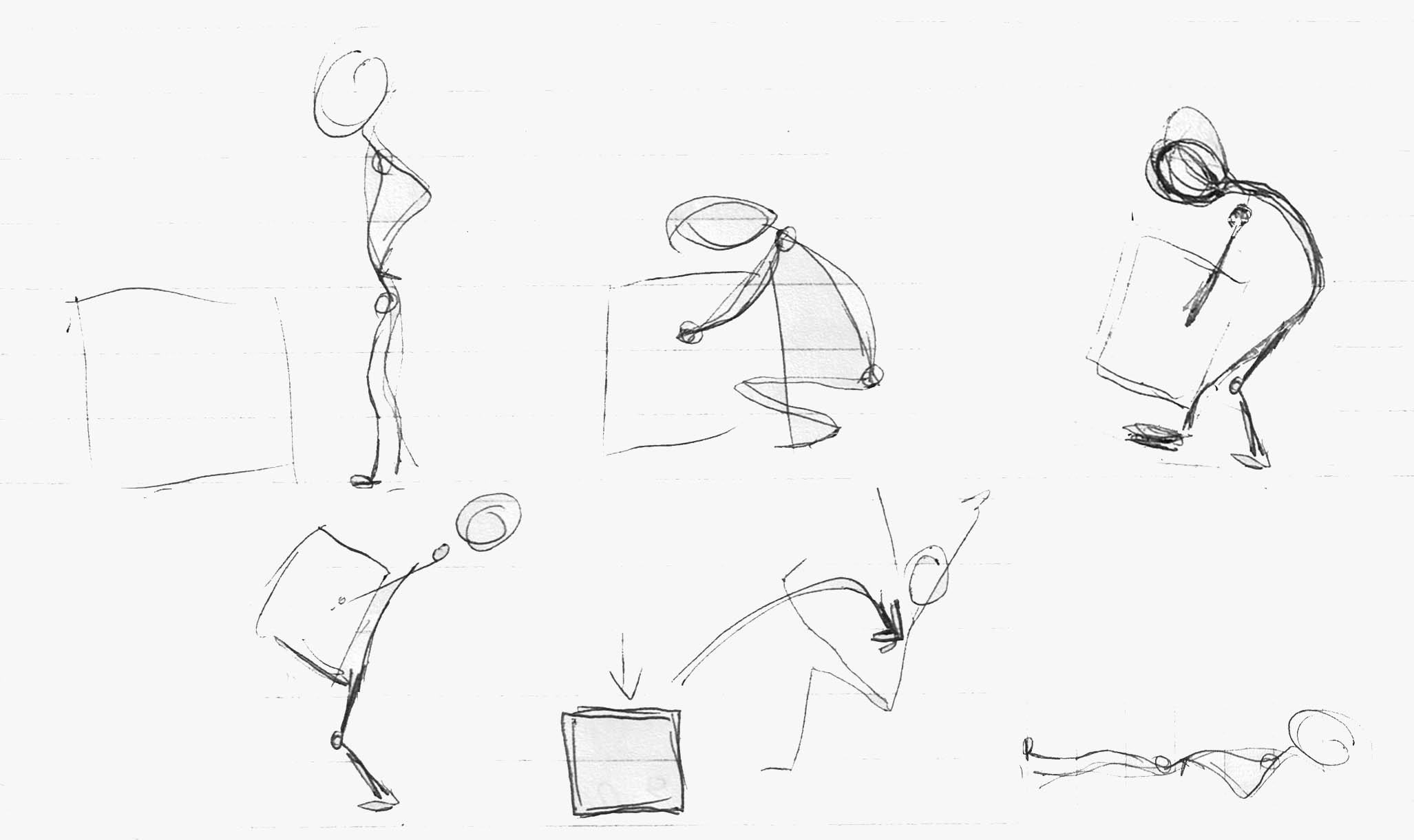Key Poses Animation Key Poses For Lifting Heavy
